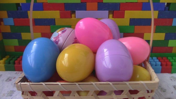 30 Яиц с игрушками! Открываем яйца сюрприз игрушки Unboxing plastic surp...