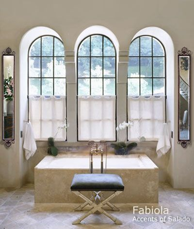 Mirrors Decorative Iron Framed Mirror Mediterranean Style Bathroom