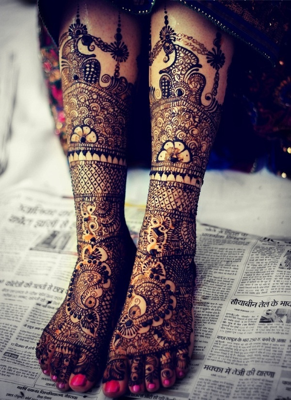 Bridal Mehndi Designs :Here I have chosen 25 Bridal Mehndi designs especially for you.
