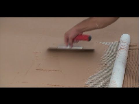ISOMAT: Application of decorative cement mortar system on floors - YouTube