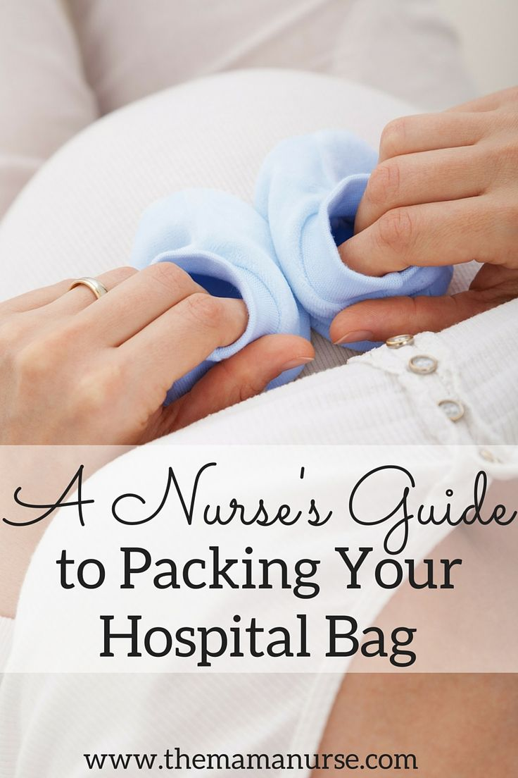 Most pregnant women tend to over-pack when planning for their hospital stay, and nobody wants to lug around a giant bag