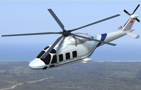 TAI'nın helikopteri T-625'ten ilk görüntü!