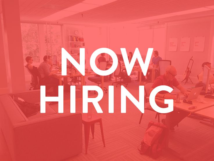 Dribbble - Now Hiring by Bill S Kenney