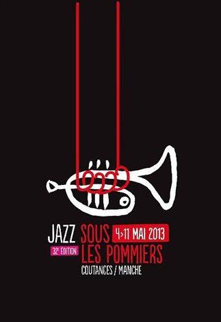 Top 12 des plus belles affiches du festival « Jazz sous les pommiers »