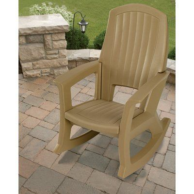Taupe Outdoor Rocking Chair  600-Lb. Capacity https://patiofurnituresetsusa.info/taupe-outdoor-rocking-chair-600-lb-capacity/