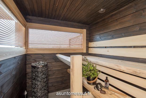 16 Villa Merengue - Sauna @ Loma-asuntomessut Kalajoella