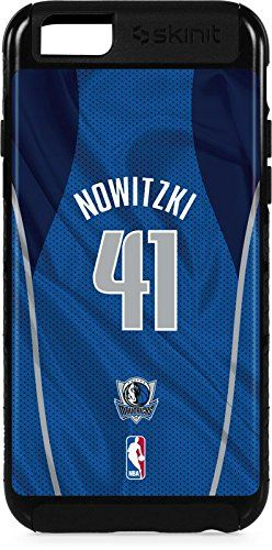 NBA Dallas Mavericks iPhone 6 Plus Cargo Case - Dirk Nowitzki Dallas Mavericks Jersey Cargo Case For Your iPhone 6 Plus. Built To Last - Tough iPhone 6 Plus Cargo Case Made With A Double Layer Hard Shell & Rubber Liner Protection. Offically Licensed Dallas Mavericks Case Design. Industry Leading Vivid Color Vinyl Print Technology. Textured Sidewalls - For Added Comfort & Enhanced iPhone 6 Plus Grip. Precision iPhone 6 Plus Fit - Increasing Protection Without Sacrificing Function.