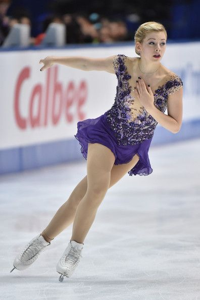 Gracie Gold Photos Photos: ISU Grand Prix of Figure ...Gracie Gold Dress