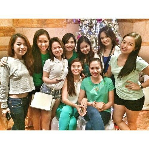 These are the alumni and the original cast of Goin' Bulilit who are now grown-up girls smiling for the camera during the Christmas party and reunion of the original cast and alumni of Goin' Bulilit at Direk Edgar Mortiz's house in Quezon City last December 2014. Indeed, they're another of my favourite Kapamilyas, and they're amazing Star Magic talents. #SharleneSanPedro #MilesOcampo #JuliaMontes #GoinBulilit #GoinBulilitGraduates