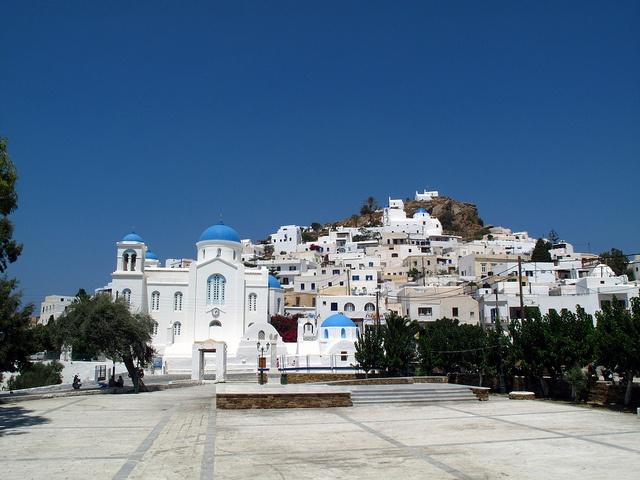 Ios Greece on Holiday