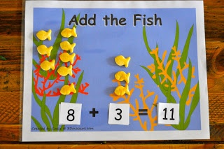 """Add the Fish"" Activity (from Sorting Sprinkles)"