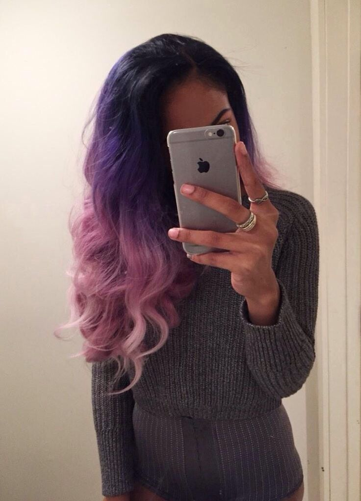 Purple & #Pink #Ombré #Hair Bewautiful Dyed Weave Hair Extensions Premium Quality With Cheap Price. shop online: http://www.belacahair.com/dyed-hair-weave.html/ Email: belacahair@yahoo.com Skype: belaca-hair WhatsApp: 008613247531950