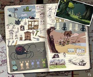 Florent Sacré: Rayman : raving rabbids (Ubisoft)