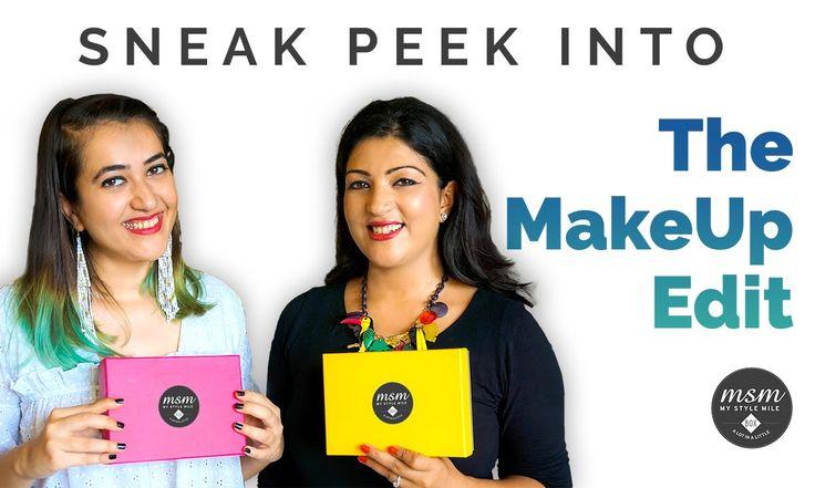 The Makeup Edit | Sneak Peek July MSM Boxes