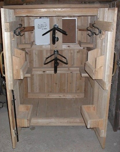Pin by makayla mercer on horses pinterest horse tack for Tack cabinet plans