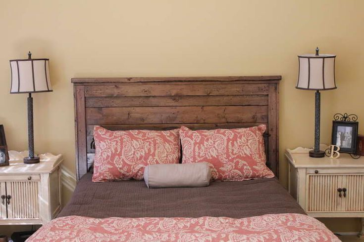 Barn wood headboard old barn wood ideas pinterest for Americanhome com