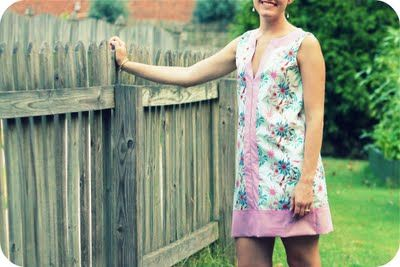 Color block tunic (with free pattern)