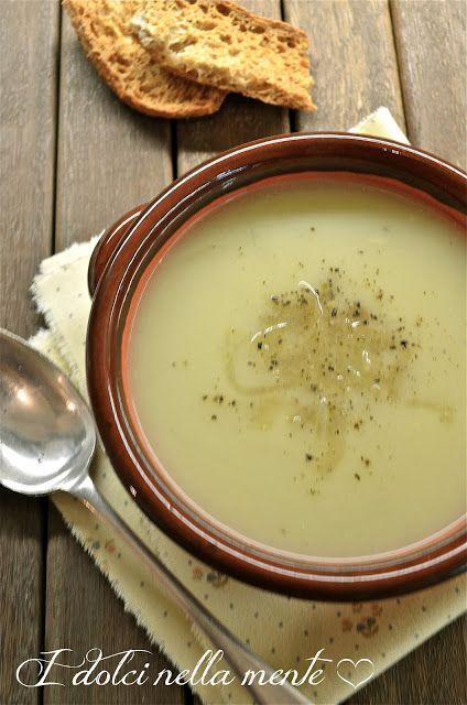 Zuppa di patate e cipolle, da I dolci nella mente