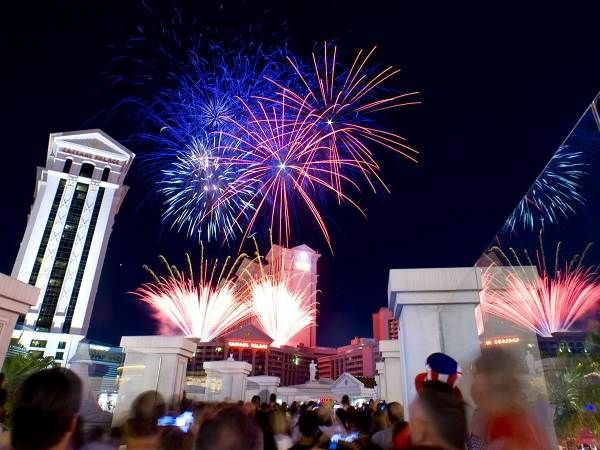 july 4th las vegas fireworks 2012