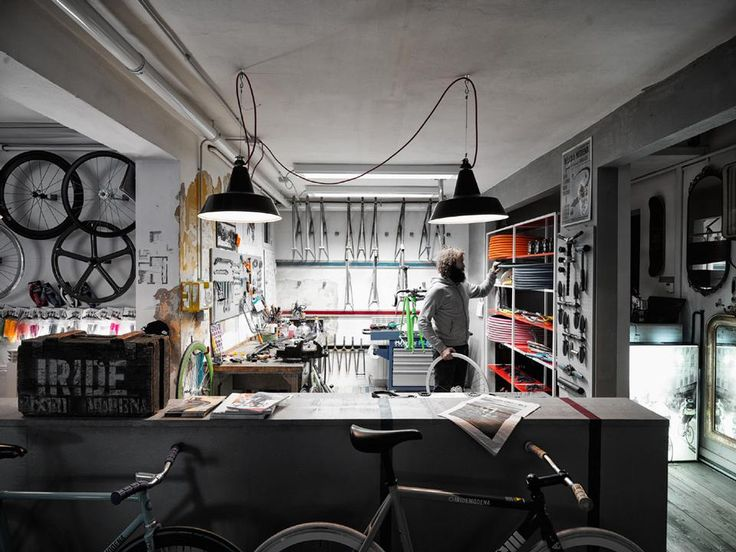 : Work Area, Favorite Places, Bicycles Shops, Bikes Workshop, Work Spaces, Workspaces, Bikes Shops, The Offices, Man Caves
