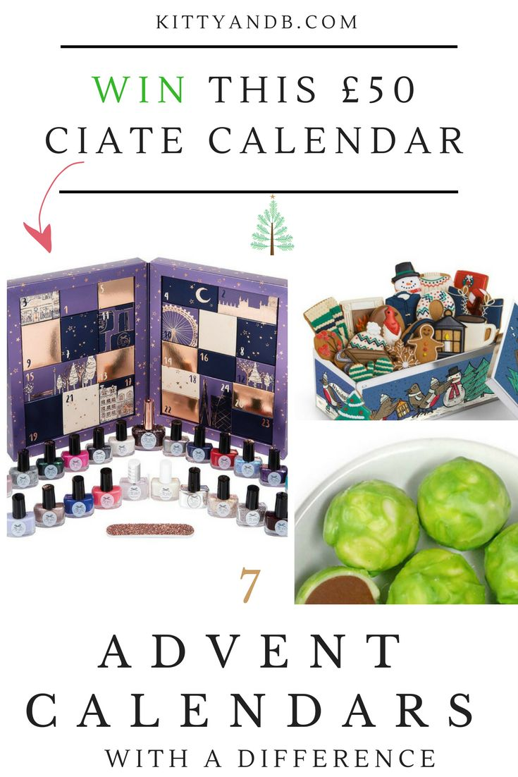 Advent Calendars with a difference and a Ciate Mini Mani Month #giveaway