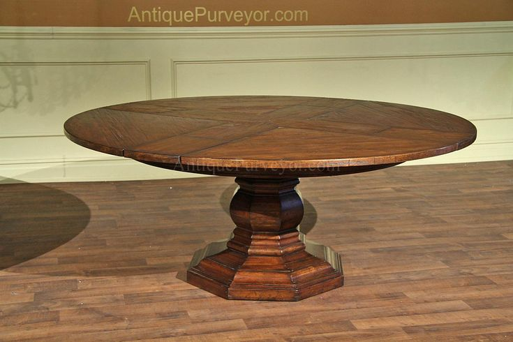 circular walnut expandable jonathan charles table
