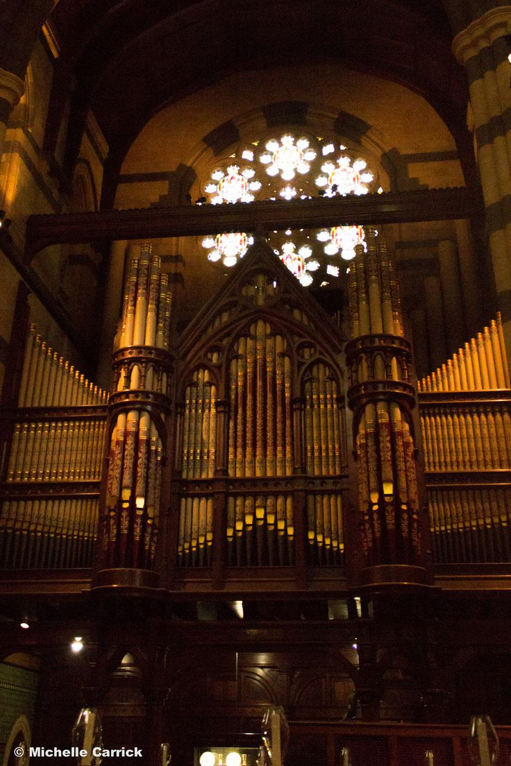Such a beautiful organ at St Paul's Cathedral - Melbourne, Victoria, Australia.