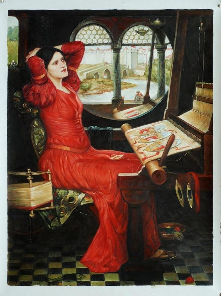 63 best Lady of Shalott images on Pinterest