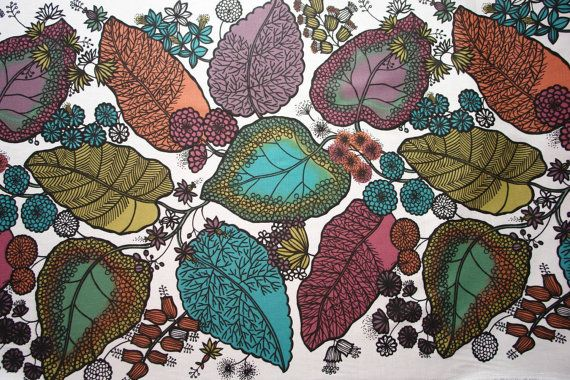 Scandinavian Fabric Canvas fabric Cotton by ScandinavianFabric