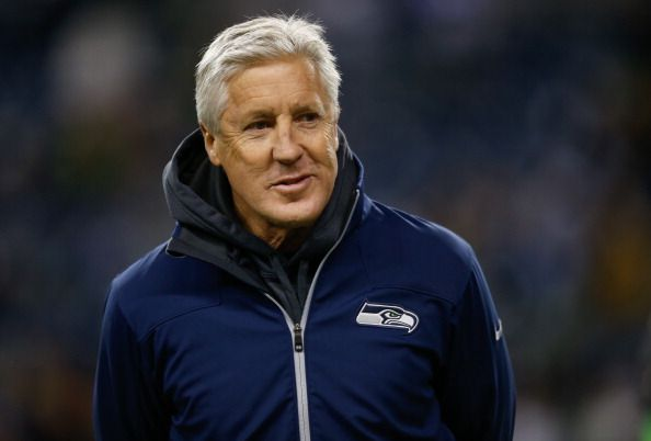 """Pete Carroll Seattle Seahawks Coach via en vivo online 