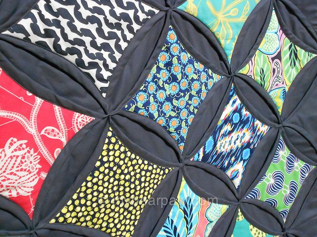 Jumbo Cathedral Window Quilt | Flickr - Photo Sharing!