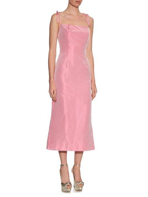The Vampire's Wife Night Garden silk-taffeta dress