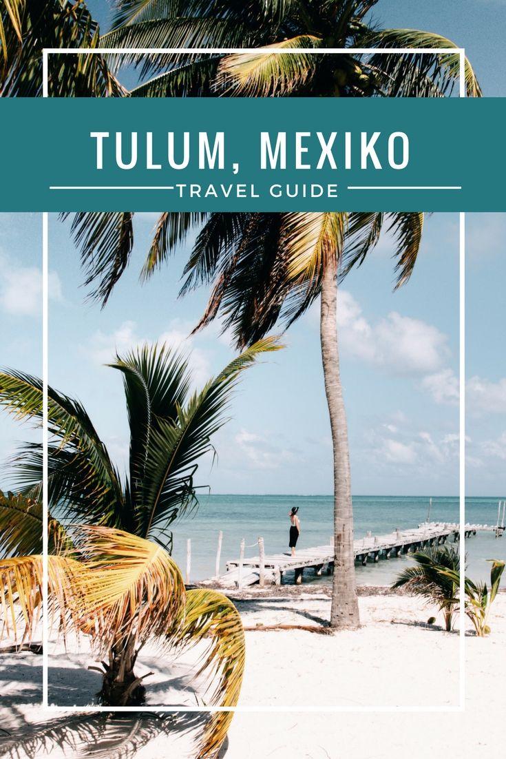 Du suchst nach dem perfekten Ausgangspunkt für deine Mexiko Reise? Dann lass Cancun (und Playa del Carmen) schnell hinter dir und mach dich auf den Weg nach Tulum. Der kleine Ort ganz im Süden der Riviera Maya ist der perfekte Ort und Ausgangspunkt für alle, die entspannten Boho-Vibe lieben, lieber in kleinen Bungalows unterkommen und mehr von Yucatan sehen wollen, als nur die Hotelbar oder den Pool.