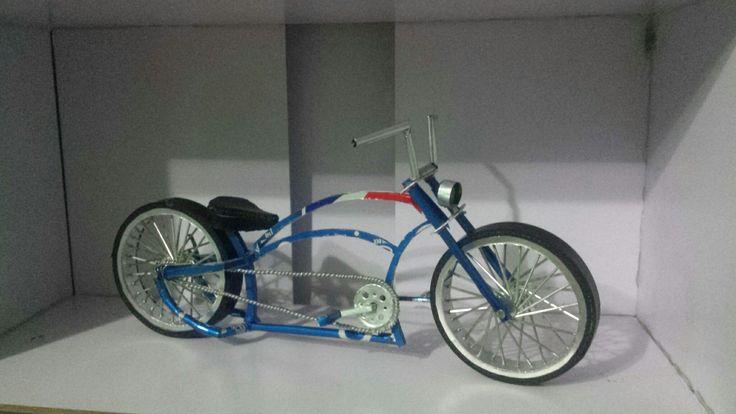 bicycle cruisers soda can ( by faisal rizal ) handmade