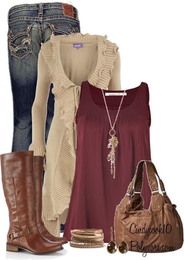 """""""Simple Weekday Wear"""" by cindycook10 on Polyvore"""