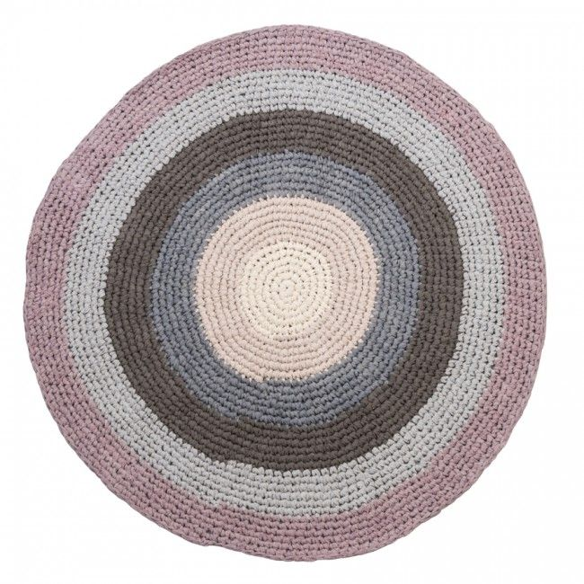 Sebra Pink Crochet Rug - Available to buy at Nubie Modern Kids Boutique | Nubie - Modern Baby Boutique
