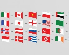 Flat World Flags Set Vol 1 Vector Ai EPS 10 DOWNLOADDesigners Revolution Vector Art Resources Download