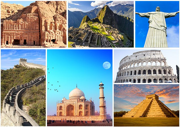 Glorious Facts About Seven Wonders Of The World For Kids Wonders