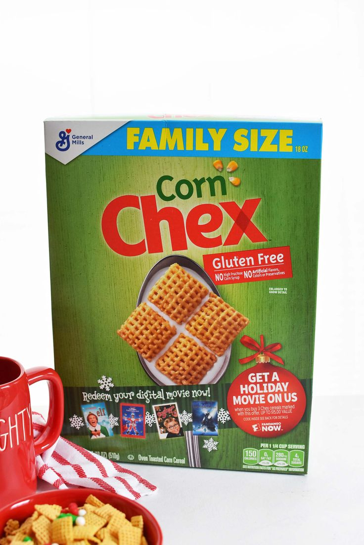 AD Super exciting news from Chex™ cereal! Right now, you