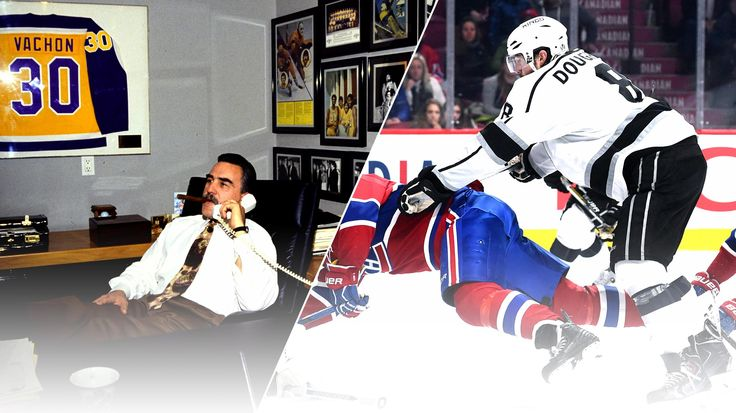 LA Kings and Montreal Canadiens goaltender Rogatien Vachon inducted into the Hockey Hall of Fame.