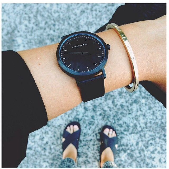 all black women's watch