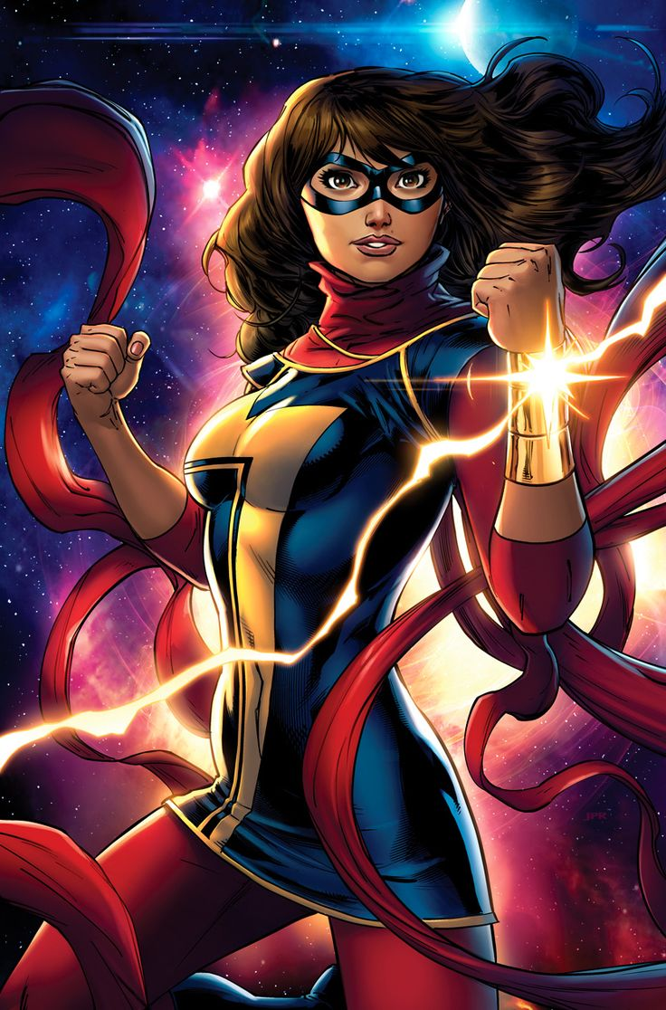 All-New Miss Marvel by Jeremy Roberts