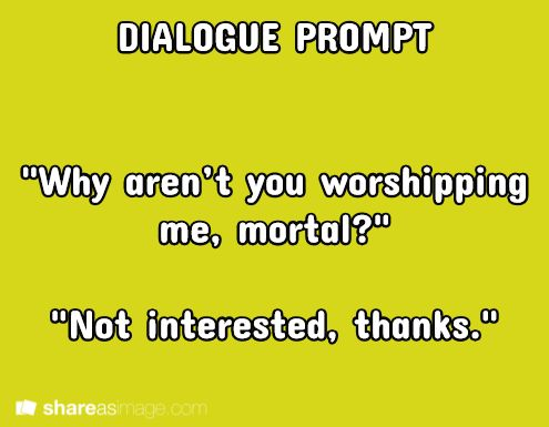 creative writing dialogue ideas Explore creative writer's board dialogue prompts on pinterest | see more ideas about writing prompts, creative writing tips and essay tips.