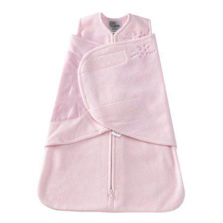 Halo Sleepsack Swaddle - Micro-Fleece - Soft Pink - P