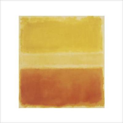 Bild:  Mark Rothko - Yellow and Gold  - (MKR-22)