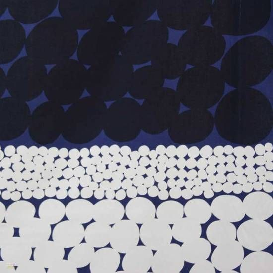 Latest Designer Fabric 'Jurmo in Blue, White and Dark Blue' by Marimekko (FIN). Buy online or visti our fabric retail store in Christchurch.