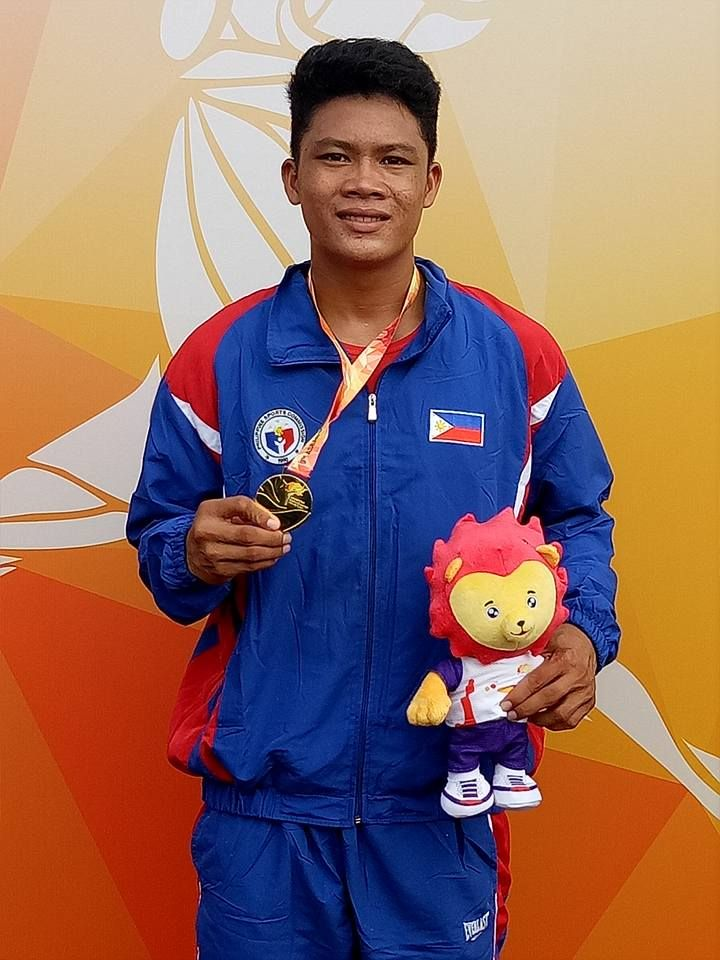 The Philippine Teams fourth gold medal came at the 9th ASEAN School Games in Singapore on the final day.  Palaro Champion James Lozanes of Western Visayas hurled the 700 gram Javelin 66.39m, to smash the meet Record of Pham Ngoc Anh of Vietnam 62.28m in 2013. Lozanes left the other medalists very far behind Wang Tingjia (Singapore) 59.76m, and Pornpraphan (Thailand) 59.49m.   #1976 Summer Olympics #Adille Sumariwalla #Africa #Asian Athletics Championships #Athletics Feder