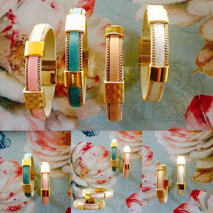 Fabulous handmade bracelets!!! Four colors, light pink,turquoise ,nude,white!!! 12 euros, free shipping!!! Contact sofi_r@windowslive.com