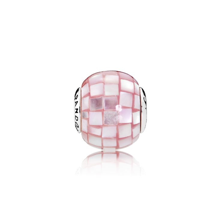 PANDORA | COMPASSION, Pink Mother-of-Pear Mosaic