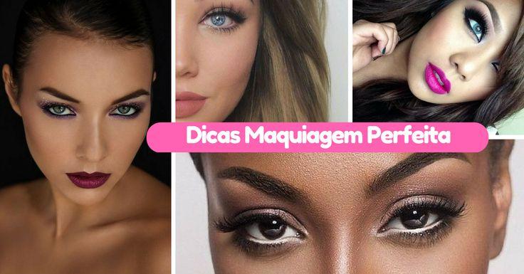 A maquiagem é um daqueles cuidados que as mulheres não dispensam, já que além de valorizar o seu rosto e o seu visual, tem ainda a capacidade de disfarçar